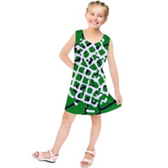 Abstract Clutter Kids  Tunic Dress