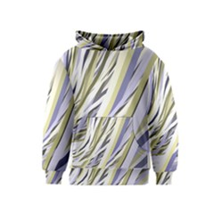 Wavy Ribbons Background Wallpaper Kids  Pullover Hoodie