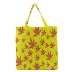 Autumn Background Grocery Tote Bag