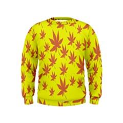 Autumn Background Kids  Sweatshirt