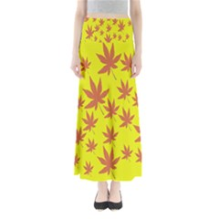 Autumn Background Maxi Skirts