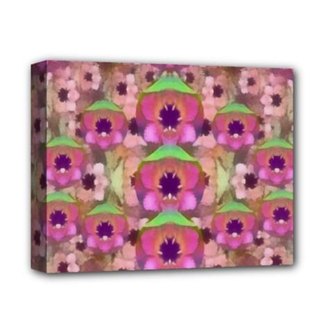 It Is Lotus In The Air Deluxe Canvas 14  x 11