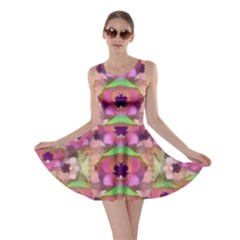 It Is Lotus In The Air Skater Dress