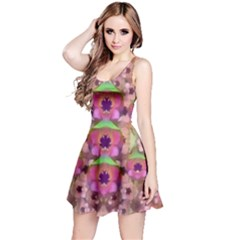 It Is Lotus In The Air Reversible Sleeveless Dress