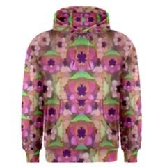 It Is Lotus In The Air Men s Pullover Hoodie