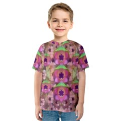 It Is Lotus In The Air Kids  Sport Mesh Tee