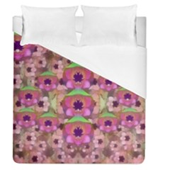 It Is Lotus In The Air Duvet Cover (Queen Size)