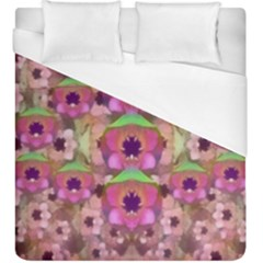 It Is Lotus In The Air Duvet Cover (King Size)