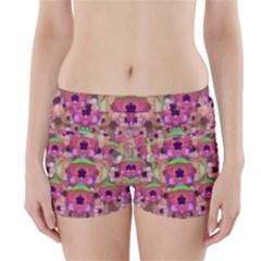 It Is Lotus In The Air Boyleg Bikini Wrap Bottoms