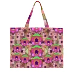 It Is Lotus In The Air Large Tote Bag