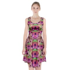 It Is Lotus In The Air Racerback Midi Dress