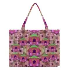 It Is Lotus In The Air Medium Tote Bag