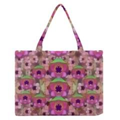 It Is Lotus In The Air Medium Zipper Tote Bag