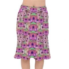 It Is Lotus In The Air Mermaid Skirt