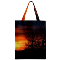 Sunset At Nature Landscape Classic Tote Bag
