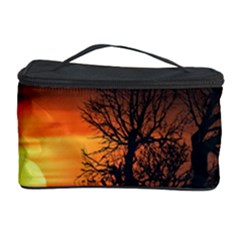 Sunset At Nature Landscape Cosmetic Storage Case