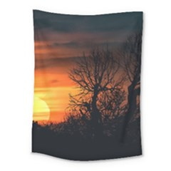 Sunset At Nature Landscape Medium Tapestry