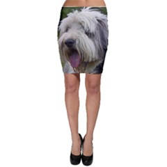 Bearded Collie Bodycon Skirt