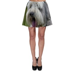 Bearded Collie Skater Skirt