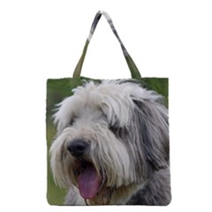 Bearded Collie Grocery Tote Bag