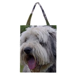 Bearded Collie Classic Tote Bag
