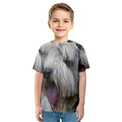 Bearded Collie Kids  Sport Mesh Tee