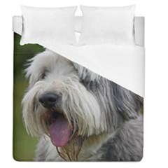 Bearded Collie Duvet Cover (Queen Size)