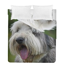 Bearded Collie Duvet Cover Double Side (Full/ Double Size)