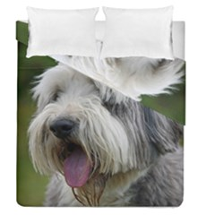 Bearded Collie Duvet Cover Double Side (Queen Size)