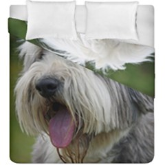 Bearded Collie Duvet Cover Double Side (King Size)