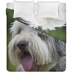 Bearded Collie Duvet Cover Double Side (California King Size)