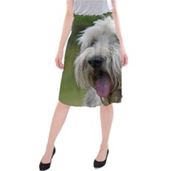 Bearded Collie Midi Beach Skirt