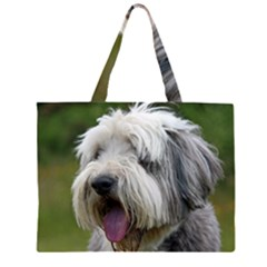 Bearded Collie Large Tote Bag