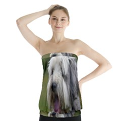 Bearded Collie Strapless Top