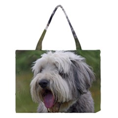 Bearded Collie Medium Tote Bag