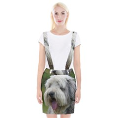 Bearded Collie Suspender Skirt