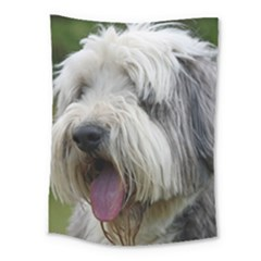 Bearded Collie Medium Tapestry