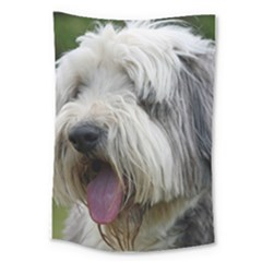 Bearded Collie Large Tapestry