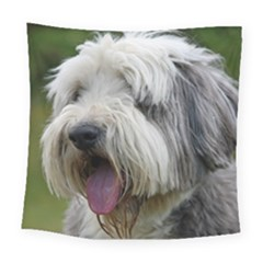 Bearded Collie Square Tapestry (Large)
