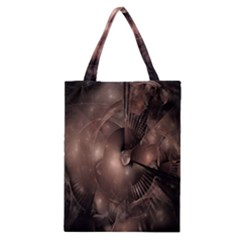 A Fractal Image In Shades Of Brown Classic Tote Bag