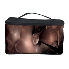A Fractal Image In Shades Of Brown Cosmetic Storage Case