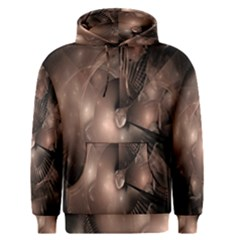 A Fractal Image In Shades Of Brown Men s Pullover Hoodie