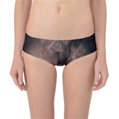 A Fractal Image In Shades Of Brown Classic Bikini Bottoms