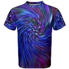 Stylish Twirl Men s Cotton Tee