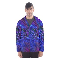 Stylish Twirl Hooded Wind Breaker (Men)