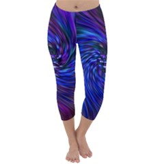 Stylish Twirl Capri Winter Leggings