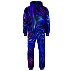 Stylish Twirl Hooded Jumpsuit (Men)