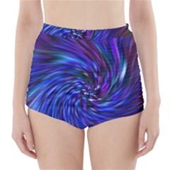 Stylish Twirl High-Waisted Bikini Bottoms