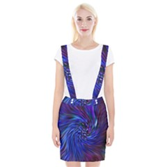 Stylish Twirl Suspender Skirt