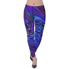 Stylish Twirl Velvet Leggings